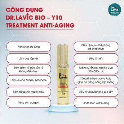 Dr.Lavic BIO – Y10 Treatment Anti – Aging trẻ hoá làn da từ 4-6 tuổi, giúp ca căng bóng và mờ nếp nhăn