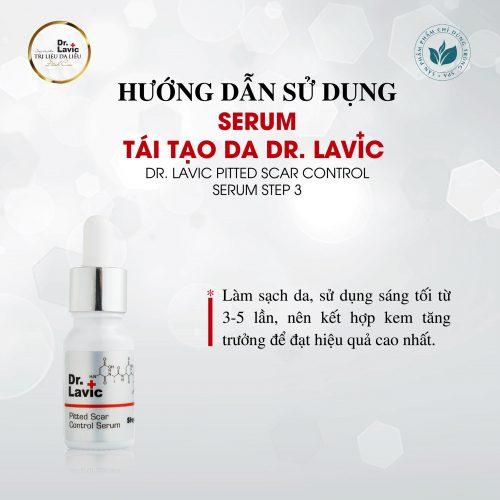 Tái tạo da Dr.Lavic nên kết hợp với kem tăng trưởng để đạt hiệu quả cao nhất