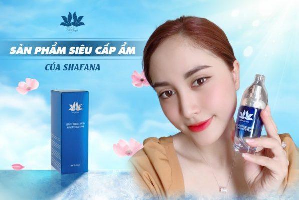 Hyaluronic Acid Stock Solution – 40ml là dòng mỹ phẩm cao cấp của thương hiệu Shafana